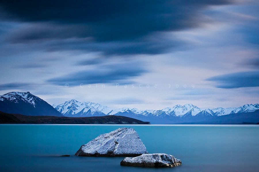 Tekapo Moonlight II by CainPascoe