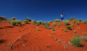 Red Sand Excitement