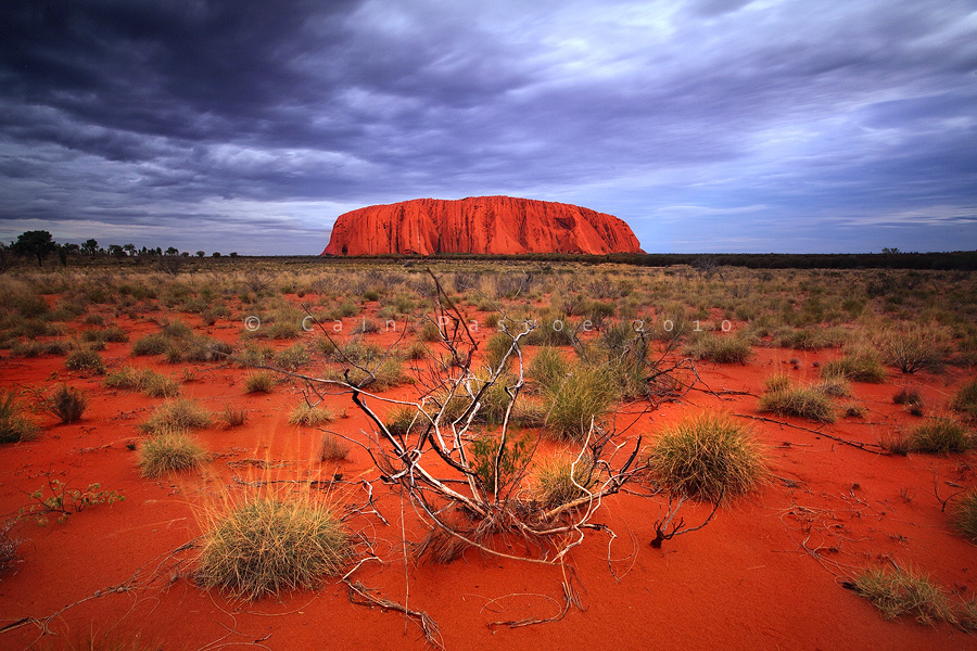 Divine Desert Rock by CainPascoe