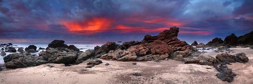 Rocky Beach Blaze