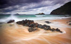 Seal Rocks Wash by CainPascoe