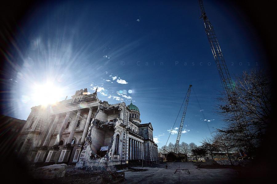 Christchurch In Ruins