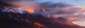 Kaikoura Ranges by CainPascoe