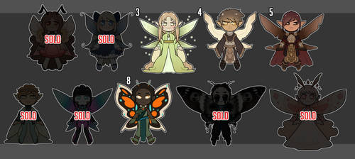 [ADOPTS] Fairies for 15$ [OPEN 6/10] by Jesi-Jess