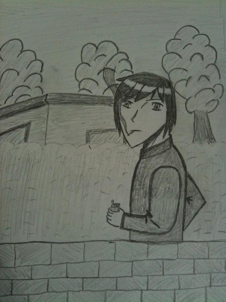 Anime Characters Smoking : Smoking manga character by ragnof on deviantart