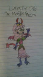 Luna The Child The Monster Princess