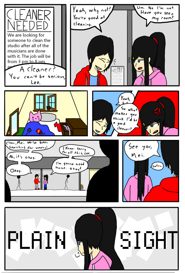 Plain Sight - Chapter 1 Page 1 by ClockworkLink