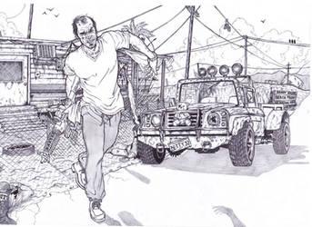Gta 5 Trevor Philips by BigDadyBear