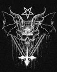 baphomet pentagram creepy
