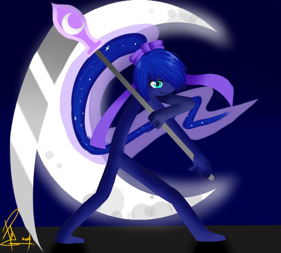 Princess Luna : Stickman Version (For Event) by PapiGa2012