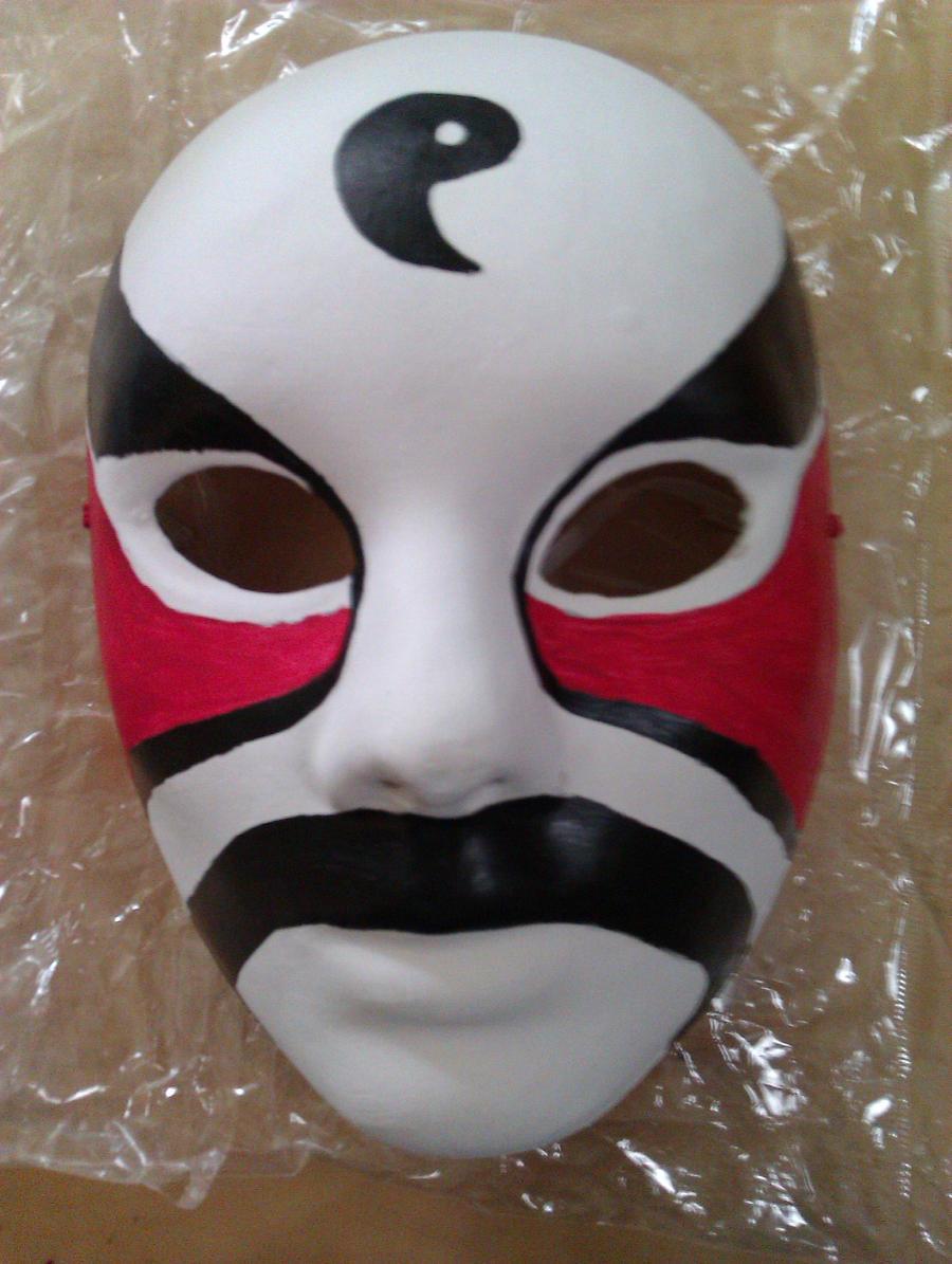Lan Fan Cosplay Mask by Ninja-Klee