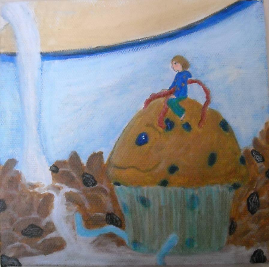 Gluten Dreams-Raisin Bran Land by bluecatqueen