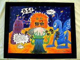 Literal Aliens 2 by bluecatqueen