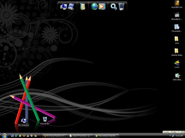 desktop by jibinjoy
