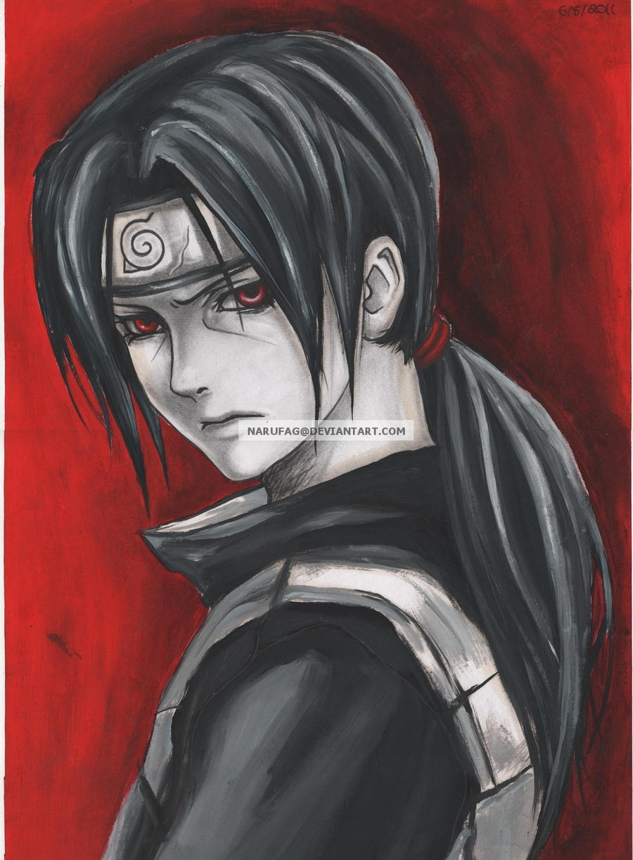 young itachi by narufag