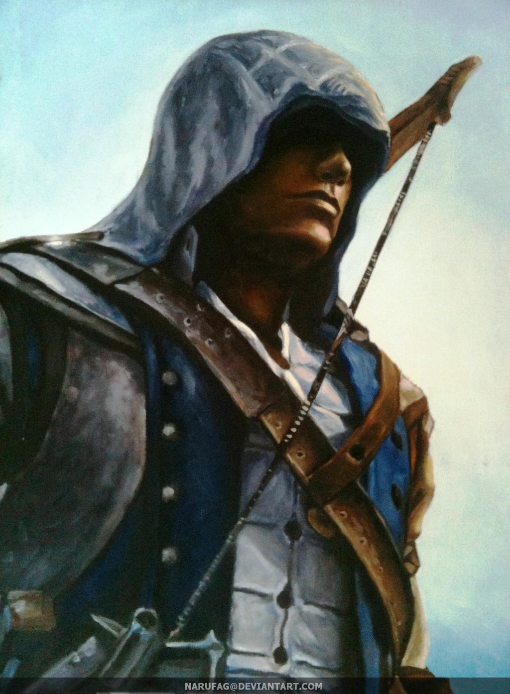 Connor Kenway by narufag