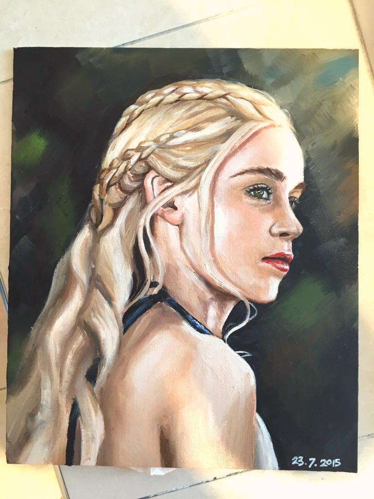 Daenerys Targaryen by narufag