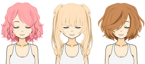 [Kisekae Hair Exports] 'How To' Edition