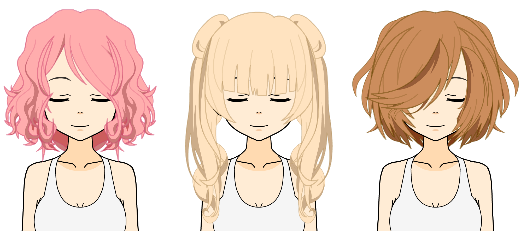 [Kisekae Hair Exports] 'How To' Edition by Bunny-Amoura