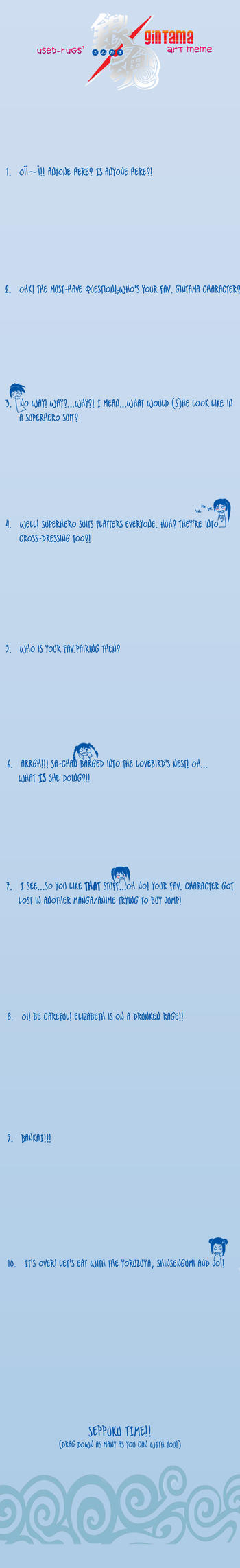 Gintama art meme by used-rugs