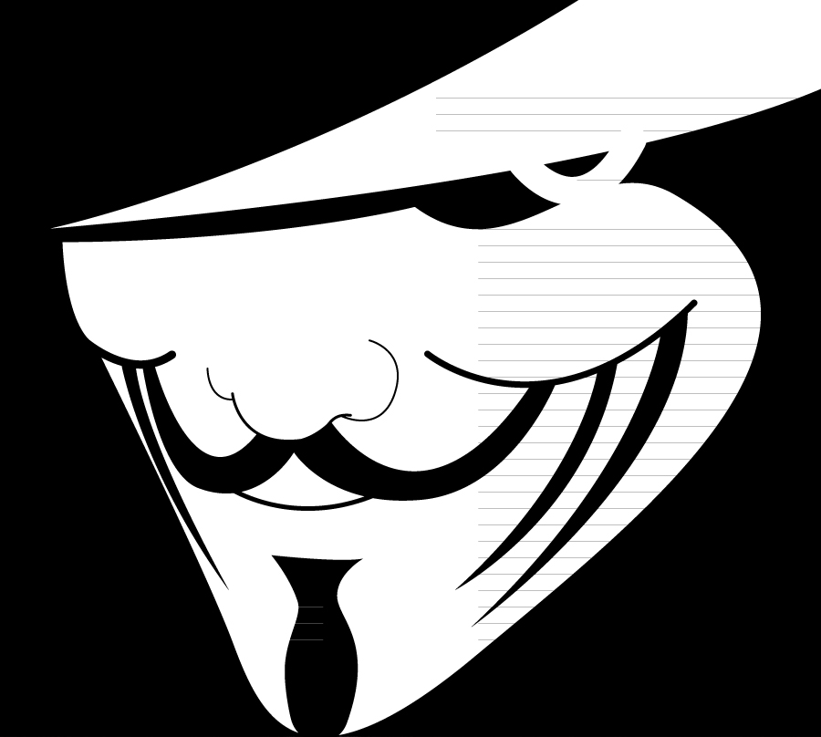 Vendetta by The-Fuzzy-Death  V For Vendetta Stencil