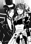 The demon butler and his maid