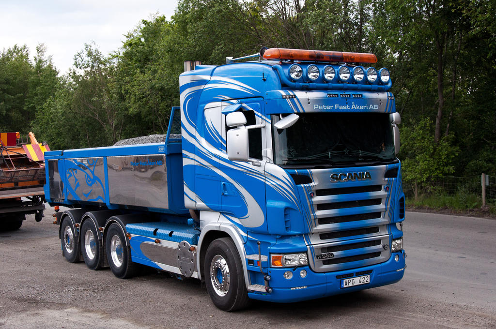 Scania r560 peter fast by portos on deviantart