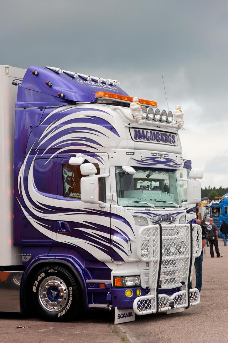 Bien connu Malmbergs Scania R620 V8 by Portos on DeviantArt XM72