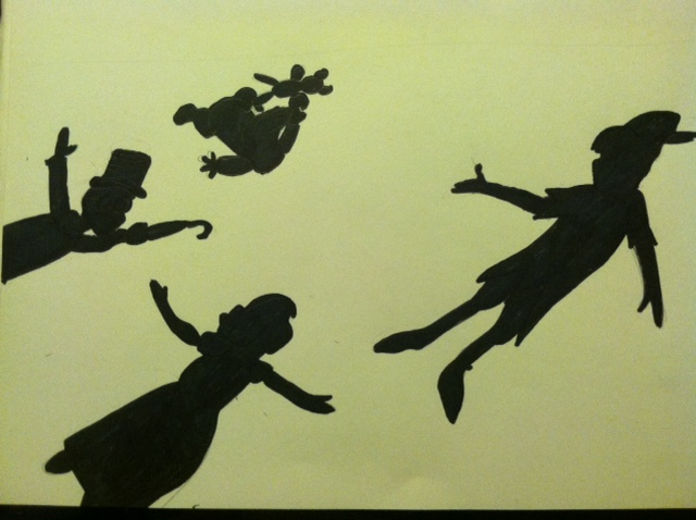 Peter Pan Silhouette Clip Art images