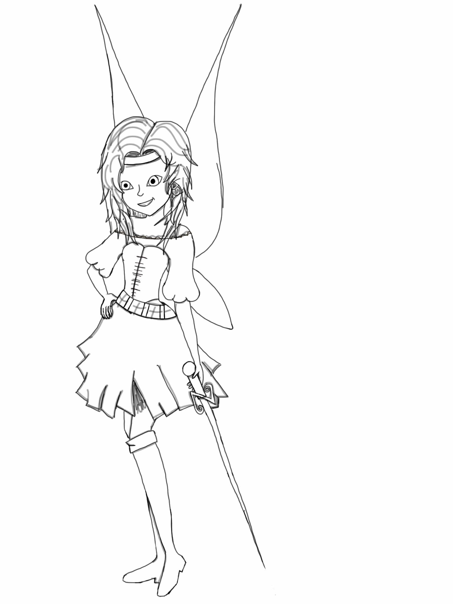 the pirate fairy by kttyz314 on deviantart