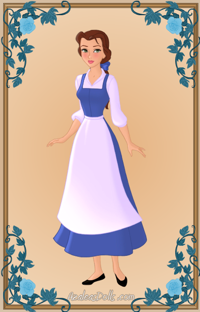 Belle S Diary Bohemian Style: Belle Blue Dress, Belle And