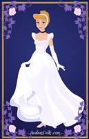Cinderella { Silver Dress } by kawaiibrit