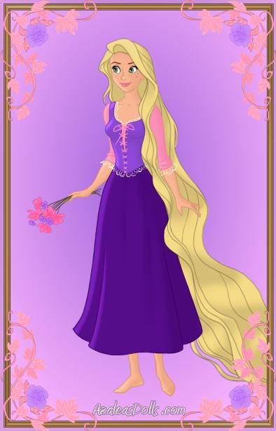 Rapunzel { Purple Dress } by kawaiibrit