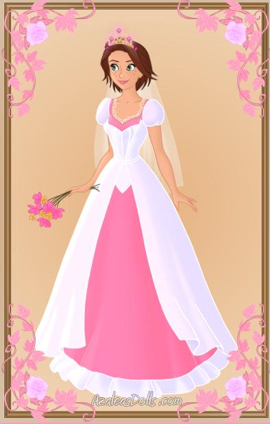 Rapunzel Wedding Dress By Kawaiibrit On DeviantArt