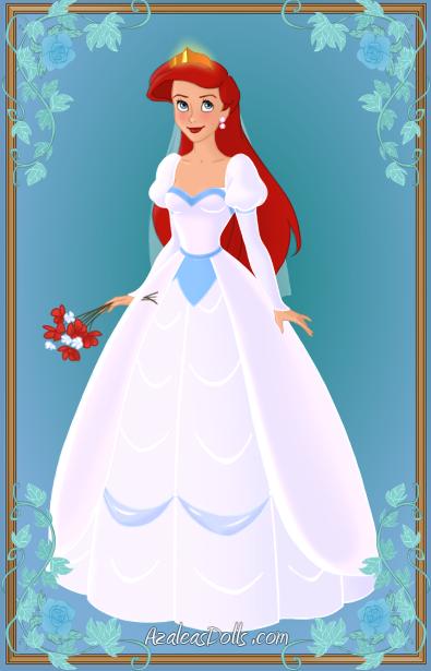 Ariel Wedding Dress By Kawaiibrit On Deviantart