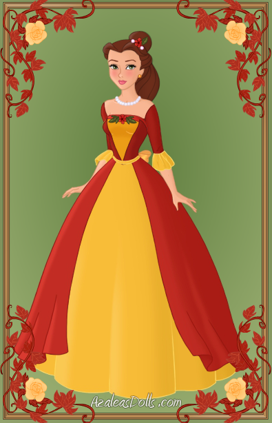Belle { Christmas Dress } by kawaiibrit on DeviantArt