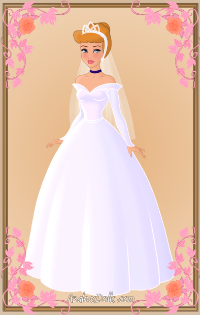 Cinderella wedding dress by kawaiibrit on deviantart for Cinderella wedding dress up