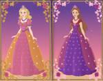 Liana and Alexa { Barbie: Diamond Castle }