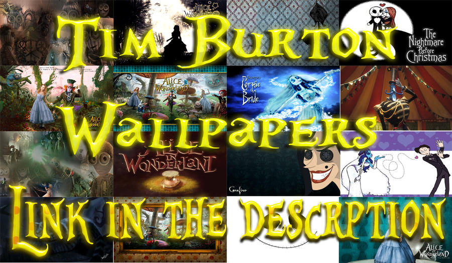 Tim Burton Wallpapers by nataschamyeditions on DeviantArt
