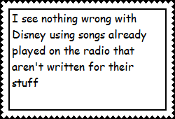 Radio songs on Disney support stamp by ToonFanJoey
