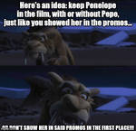 Zeke's advice for Warner Bros.