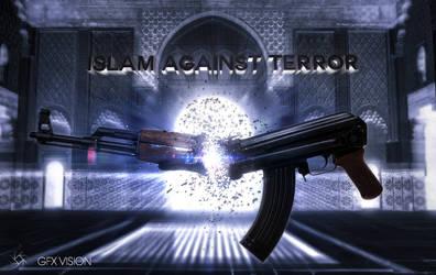 Islam against terror by xeronoxic