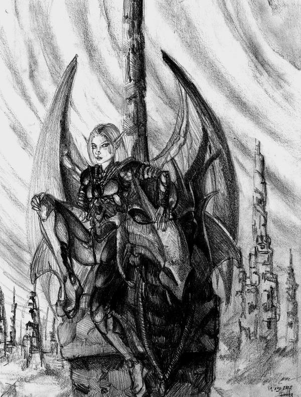 Dark city by renata-studio