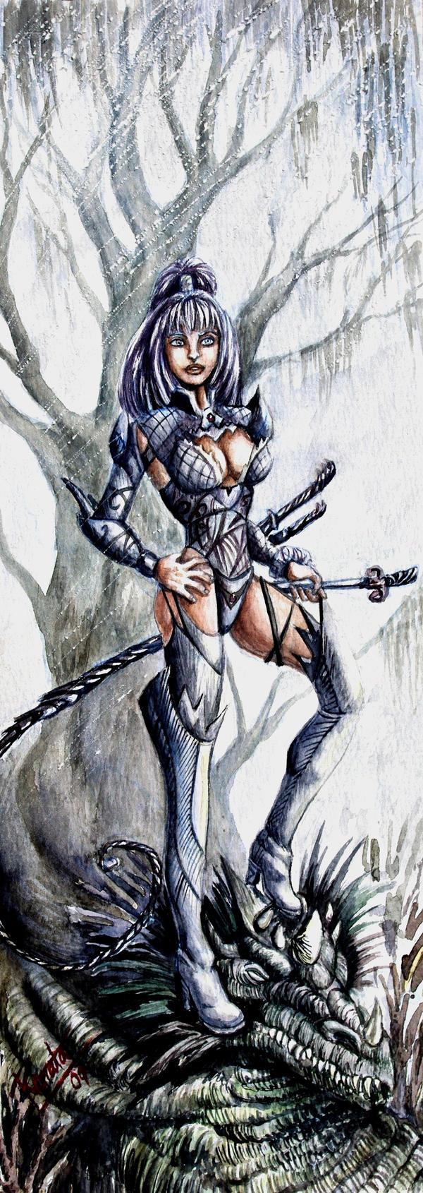 Dragon slayer by renata-studio