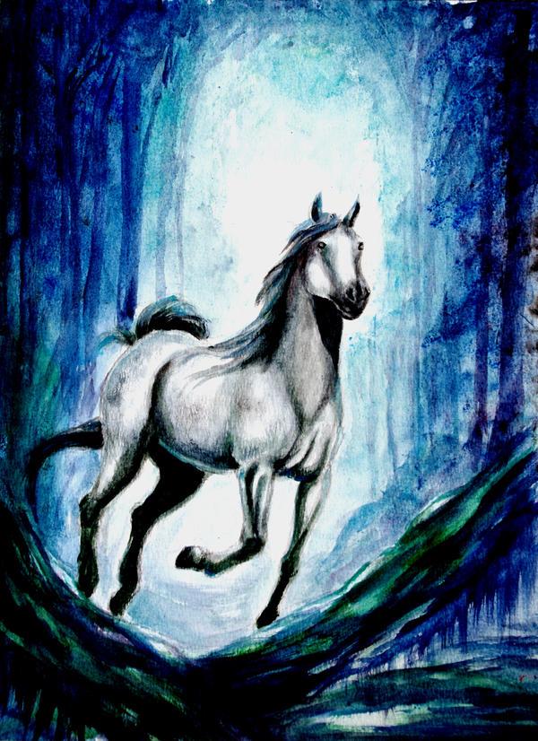 Blue Forest by renata-studio