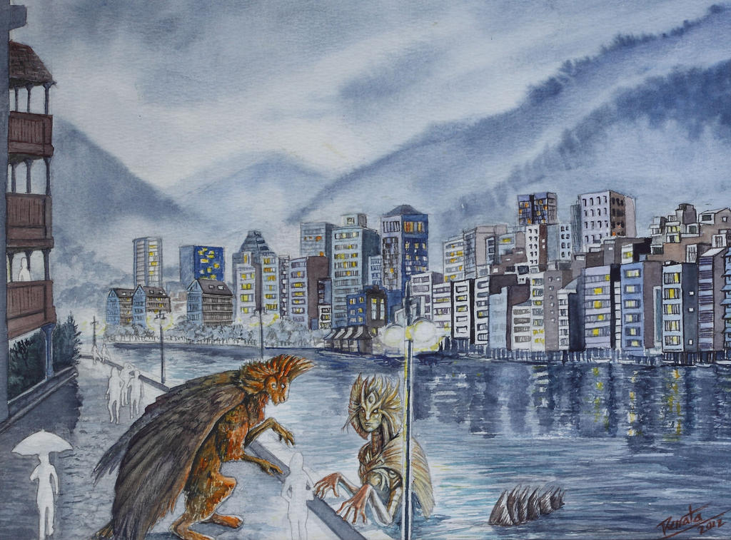 La dama del rio by renata-studio