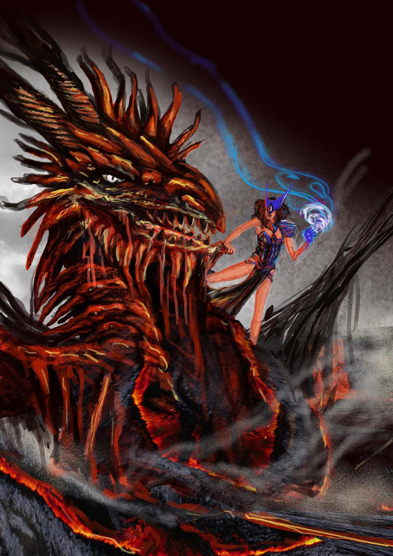 Dragon Quest by renata-studio