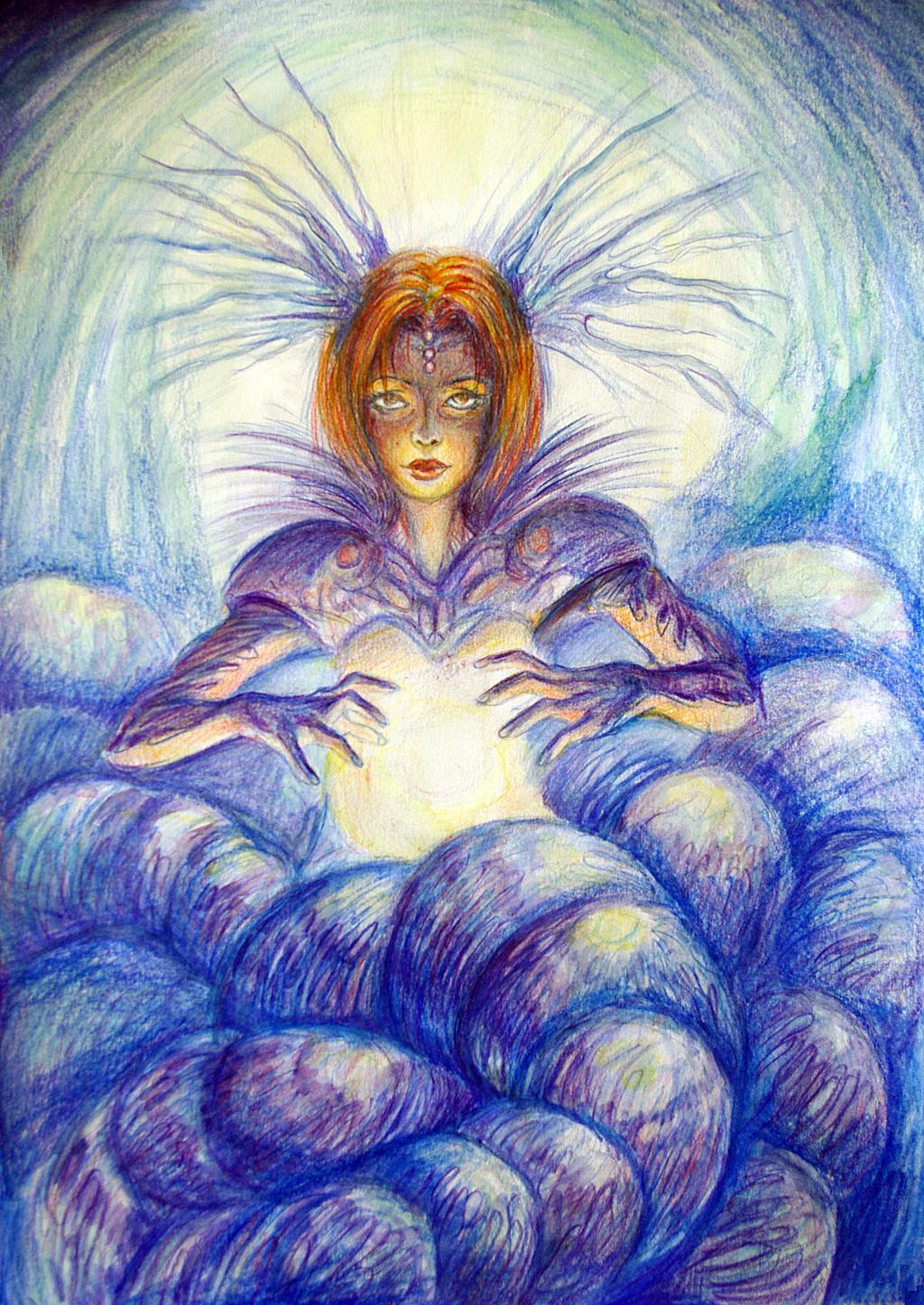 Queen of deep ocean by renata-studio