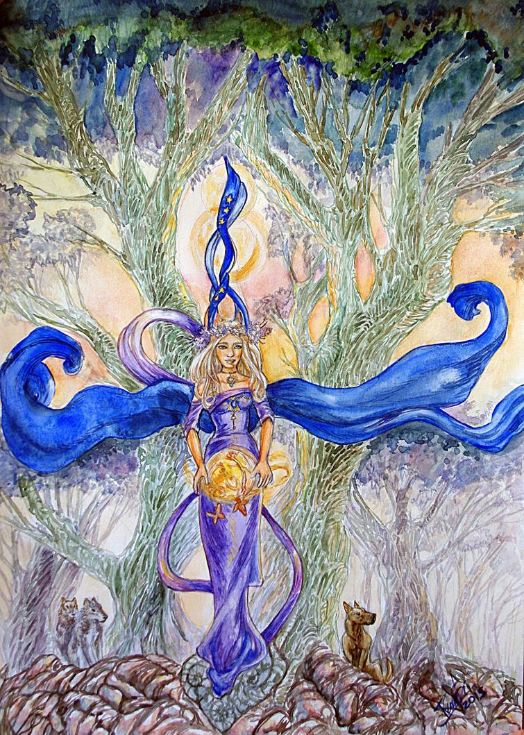 The  Sorceress by renata-studio
