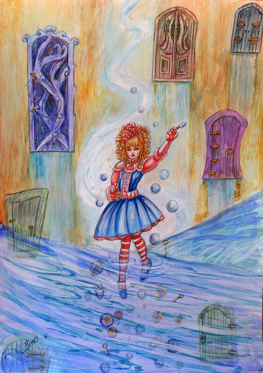 Alice in wonderland by renata-studio